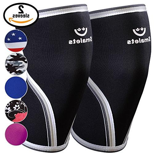 knee sleeves neoprene compression support