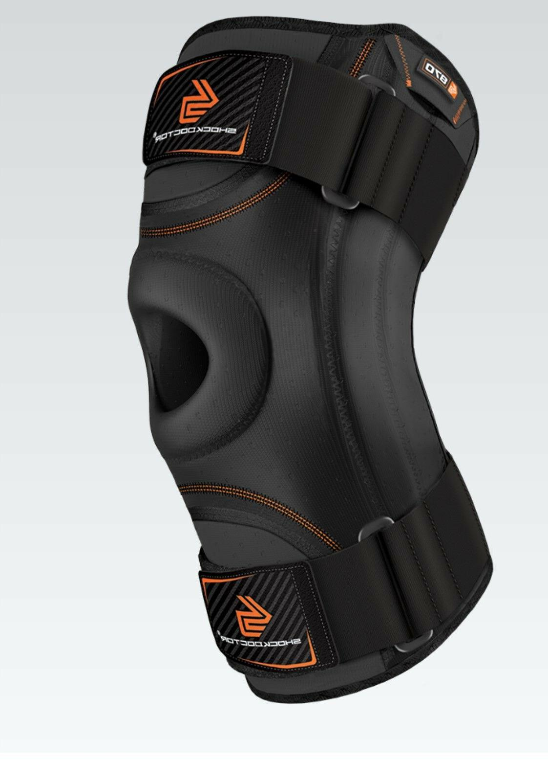 bf883bb347 Shock Doctor Knee Stabilizer with Flexible Support Stays