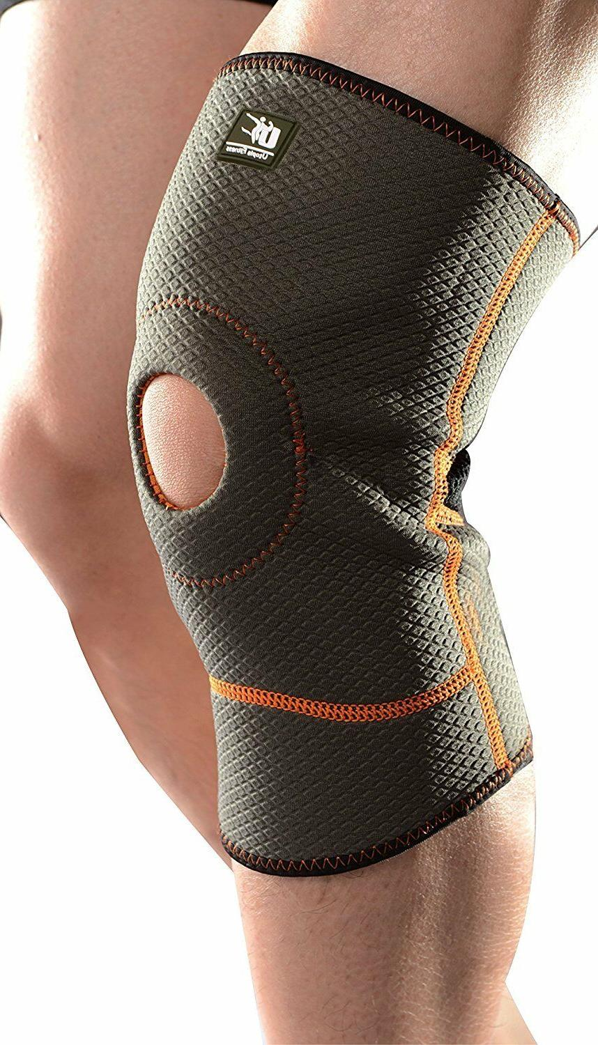 knee support brace compression sleeve for running