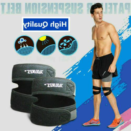 Knee Patella Tendonitis Stabilizer Jumpers Sprain Pain Relief