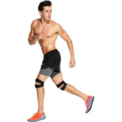 Knee Support Brace Leg Guard Sport Gym Outdoor Padded US