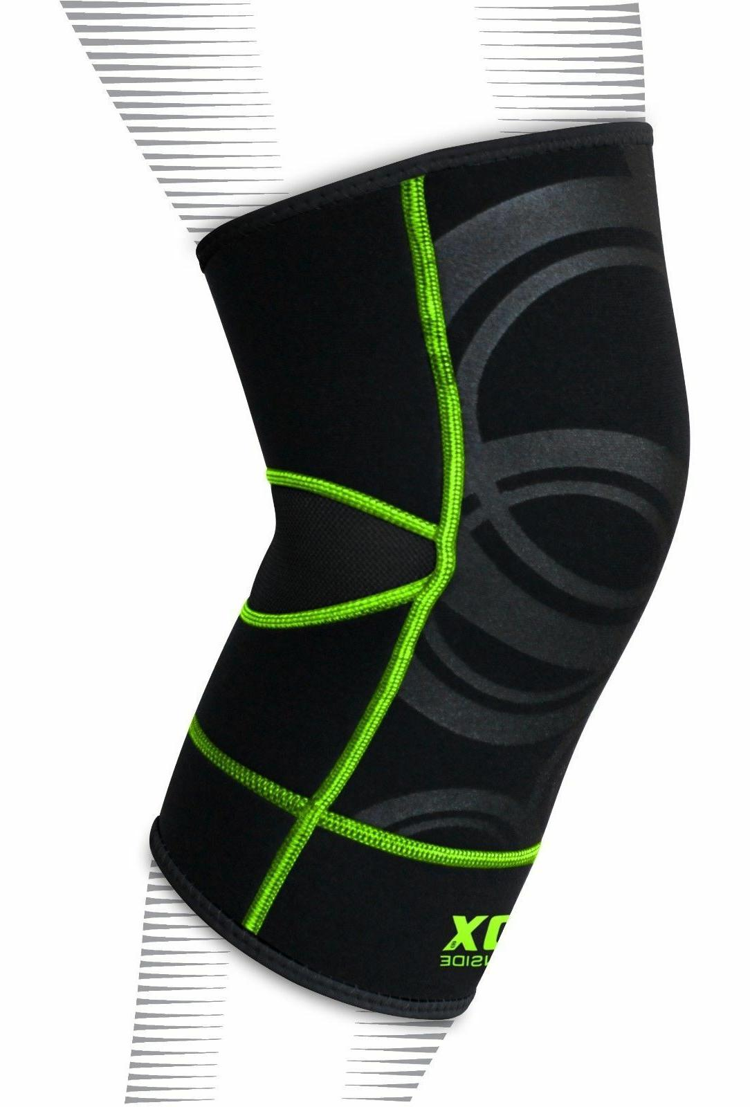 RDX Knee Support Protector Leg Wrap Guard