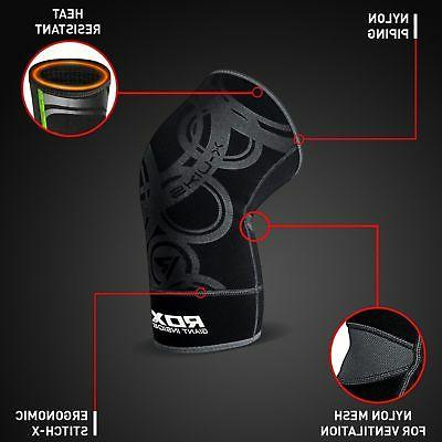 RDX Knee Sleeve Brace Wrap Guard Pad