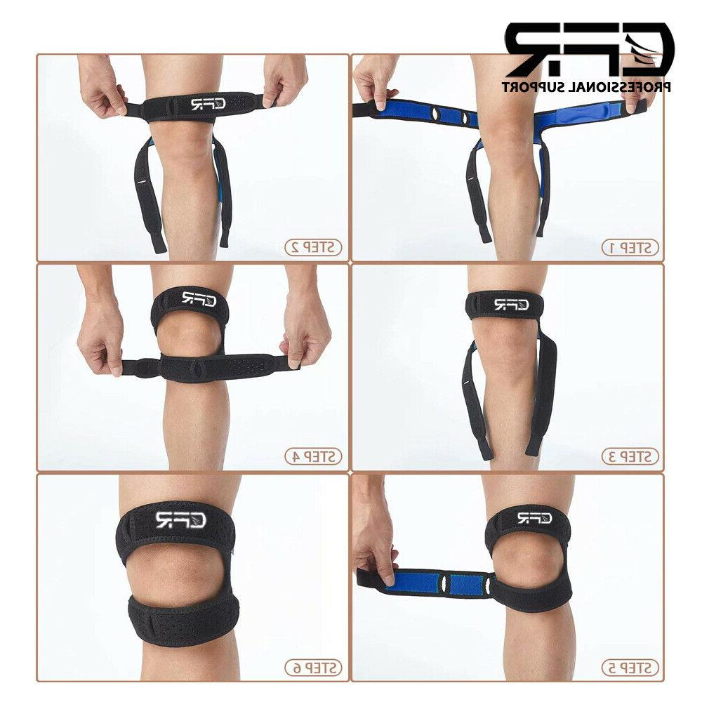 Knee Strap Tendon Pain Joint HG