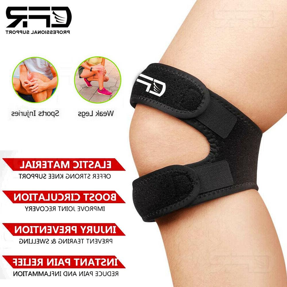 Knee Support Patella Stabilizer Strap Tendon Brace Pain HG
