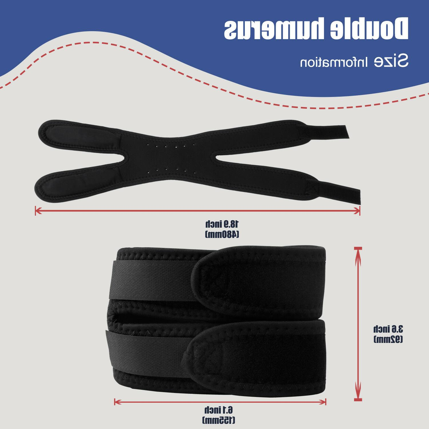 Knee Support Double Brace Relief