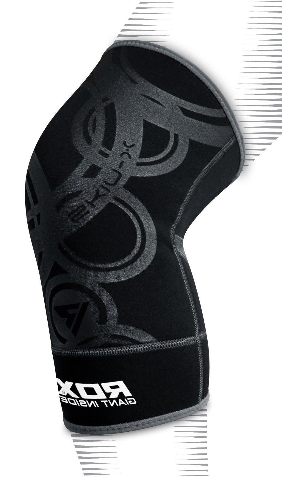 RDX Knee Support Protector Pads Gear Brace Sleeves Sports Relief Neoprene
