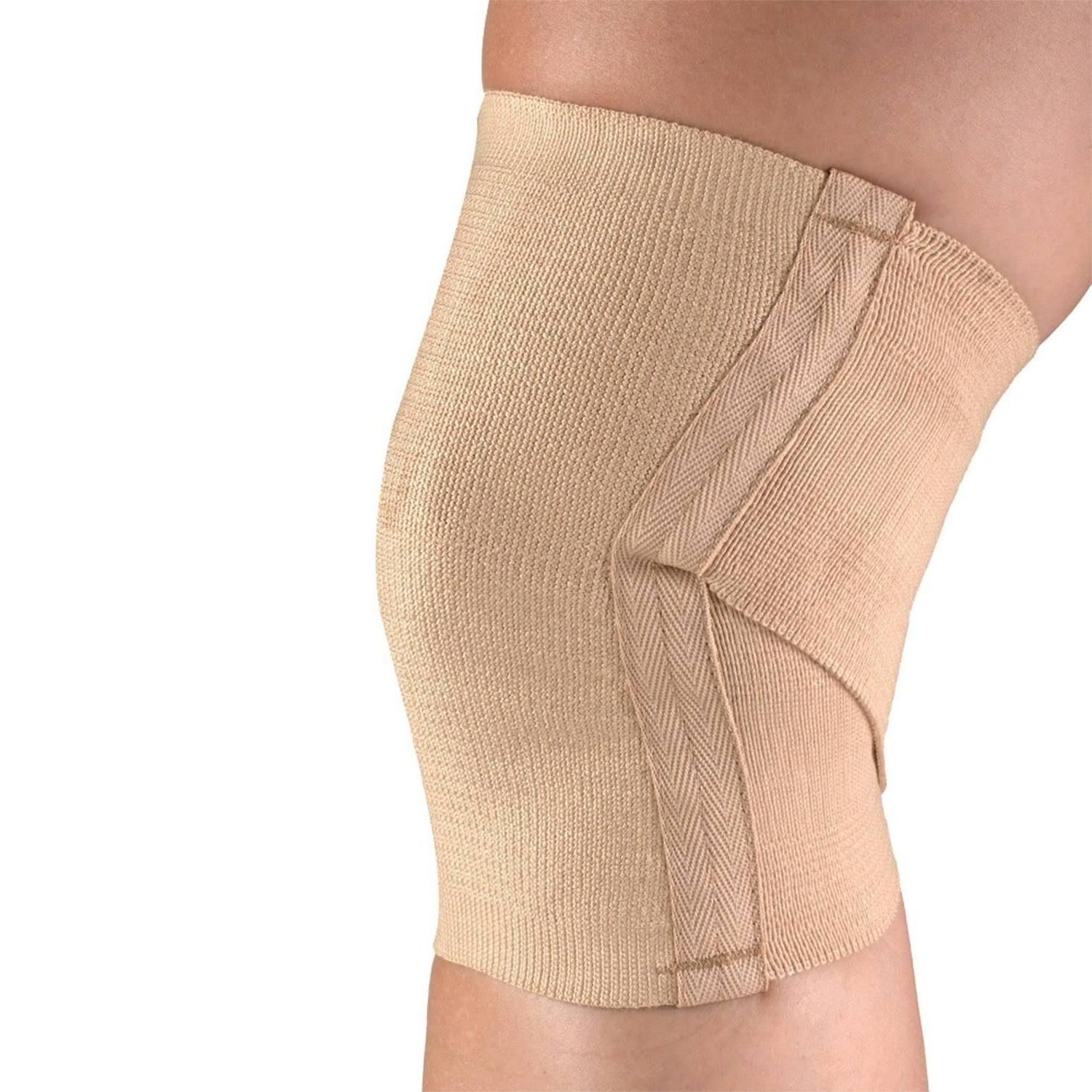 knee support pullover criss cross sport or