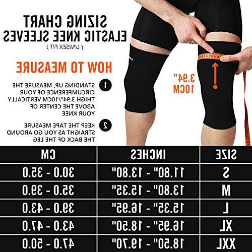 Mava Sports Sleeves Circulation – Support for Running, Jogging,Workout, &