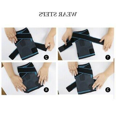 Kneecap Foot Support Brace For Sports