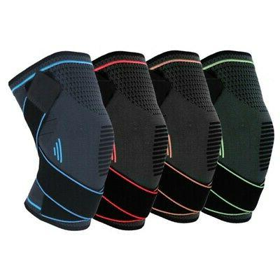 Kneecap Knee Foot Support Brace For Gym Sports