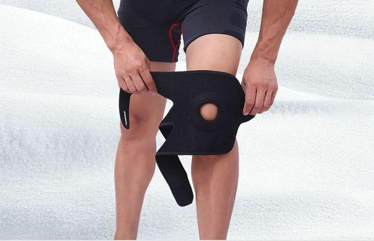 Kneecap Patella Knee Leg Foot Elastic Support Protection Bra