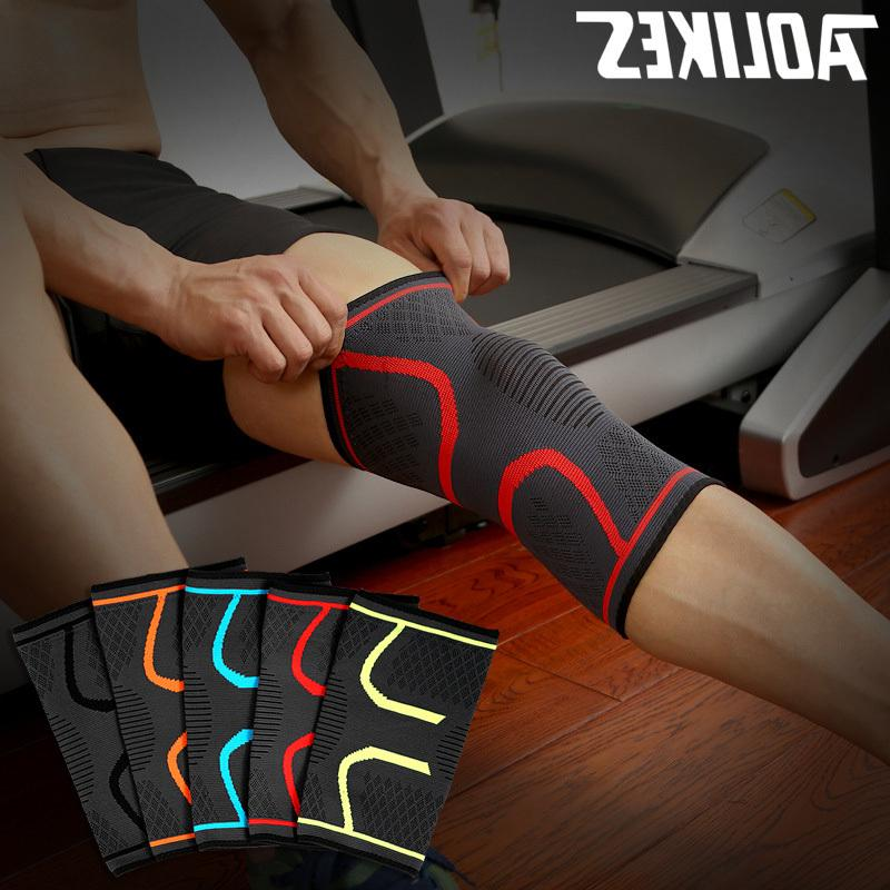 M-3XL Pcs Support Protect Fitness Running Cycling Kneepad Gym <font><b>Knee</b></font> Pad Warm Sleeve