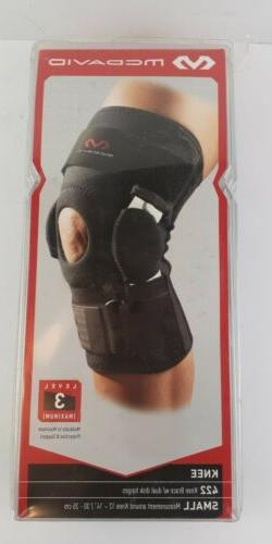 McDavid MD422 Level 3 Knee Brace w/ Dual Disk Hinges Small