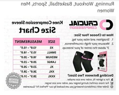 Crucial Compression Black And Pink Brace