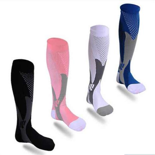 Women Compression Long Leg Foot Support Relief