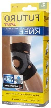 Futuro Sport Moisture Control Knee Support, X-Large