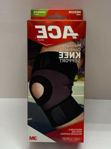 ACE Moisture Control Knee Support, Medium