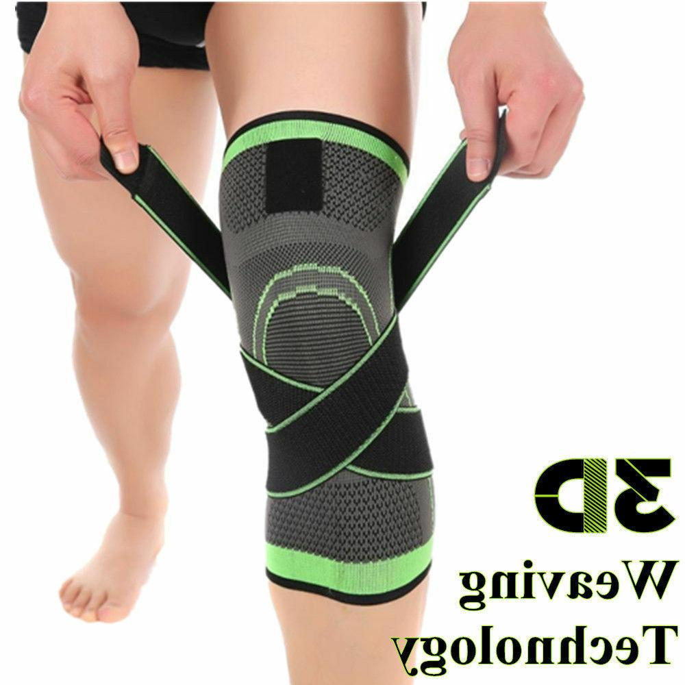 new 3d weaving knee brace breathable support