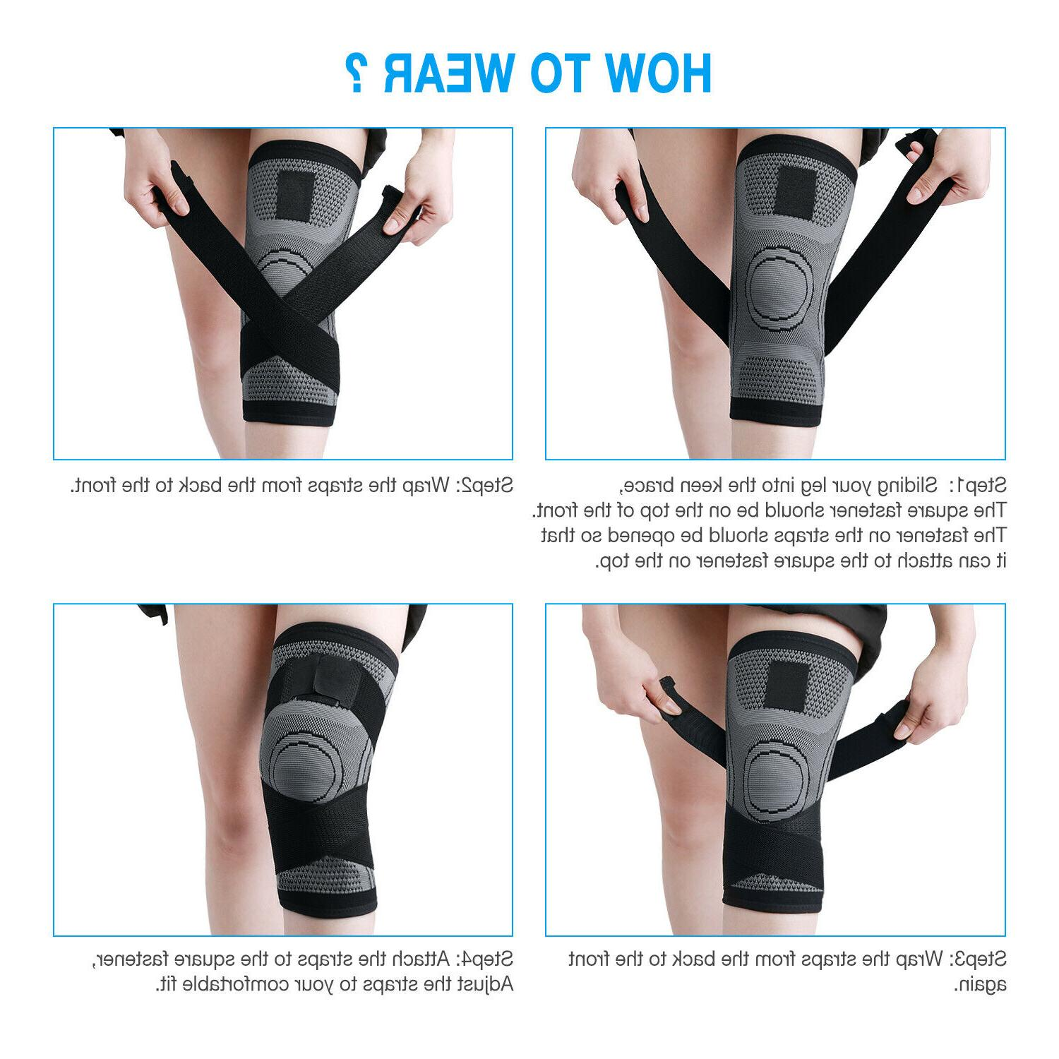 NEW Brace Support Sleeve Wrap Stabilizer For Arthritis Sports
