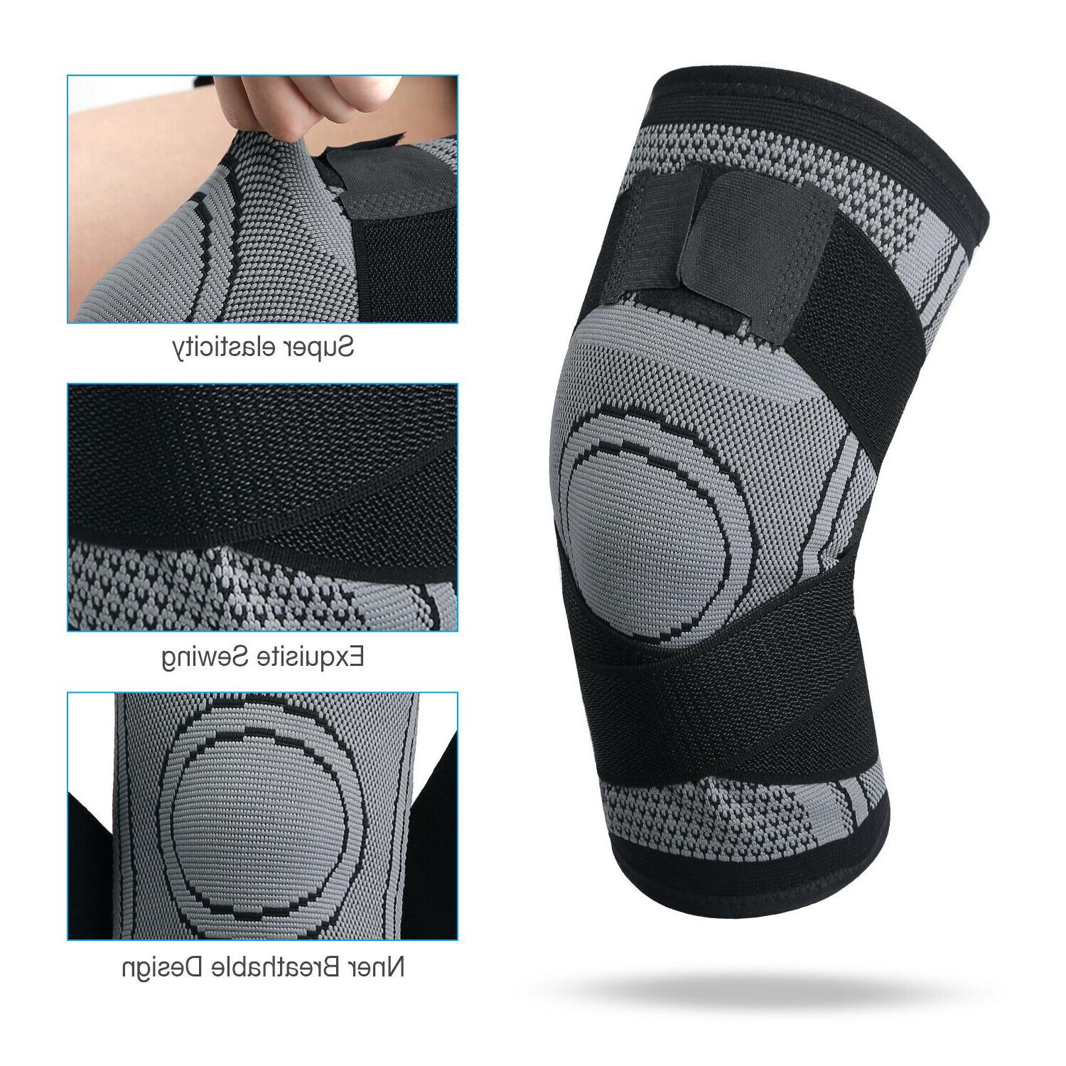 Copper Sleeve Brace Patella Sports Joint
