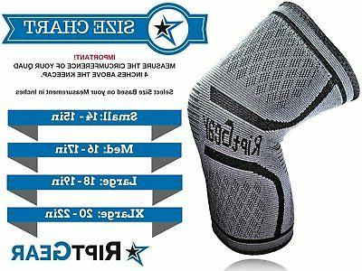 NEW! Compression Sleeve for Men and by Knee Brace Support