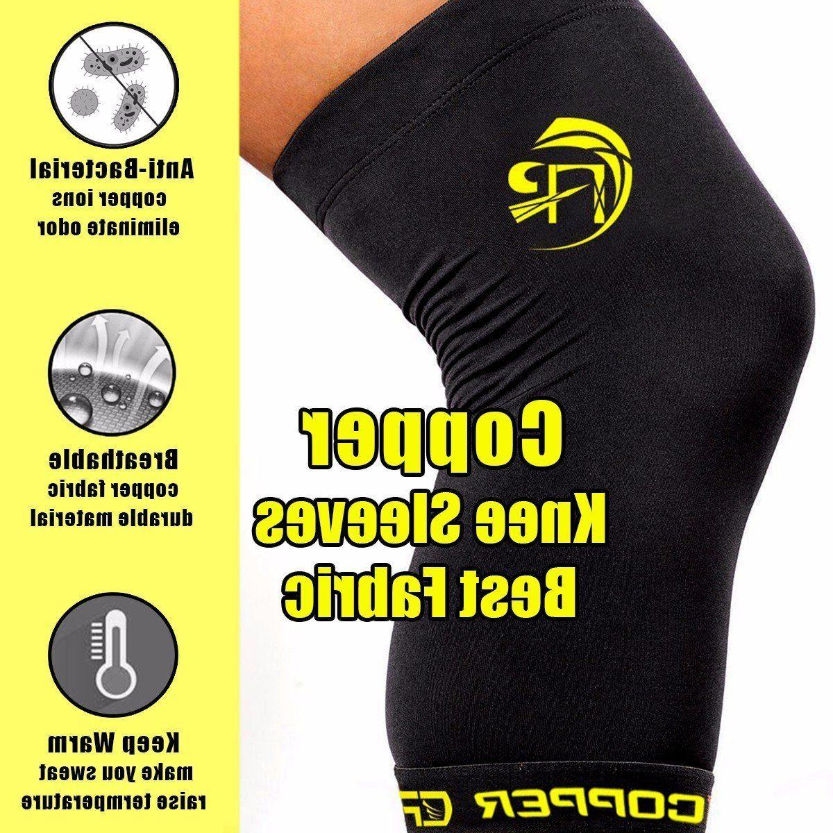 New Knee Copper Fit Support Arthritis