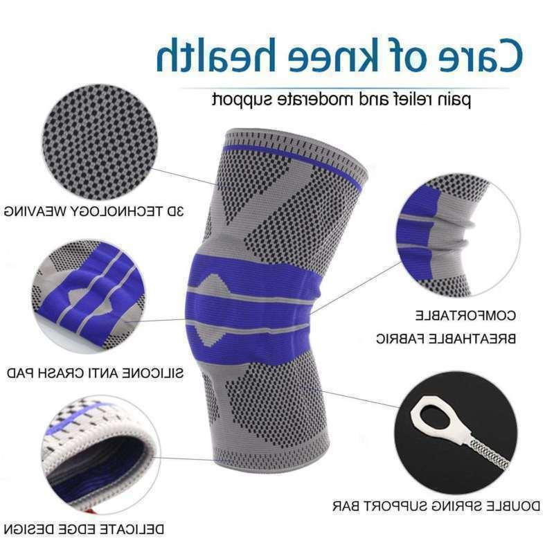 NEW Knee Compression Brace Support Joint Arthritis