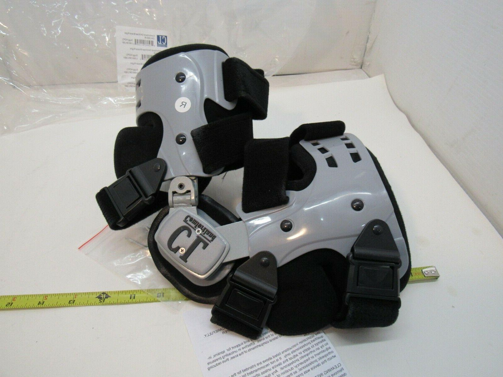 Comfortland - RIGHT- Black Support Brace OA-200