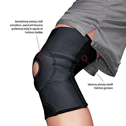 ACE Open Patella Support, Large/Extra Large, Most Trusted Brand Braces and Supports, Money Back Satisfaction