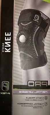 P-TEX Pro Kinetic Knee Sleeve with Metal Hinges  Compression