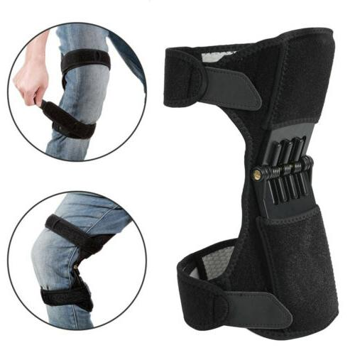 Power Joint Knee Rebound Spring Knee Pad
