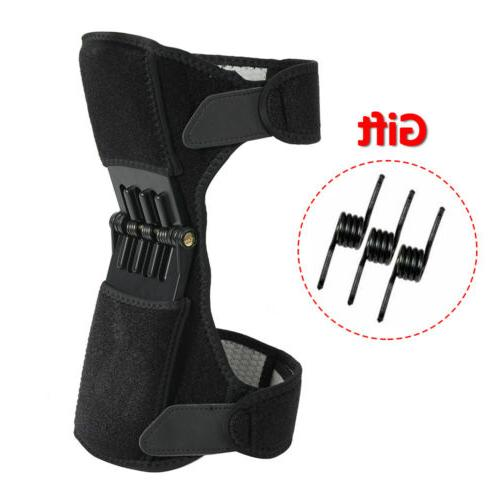 power lift joint support knee brace pads