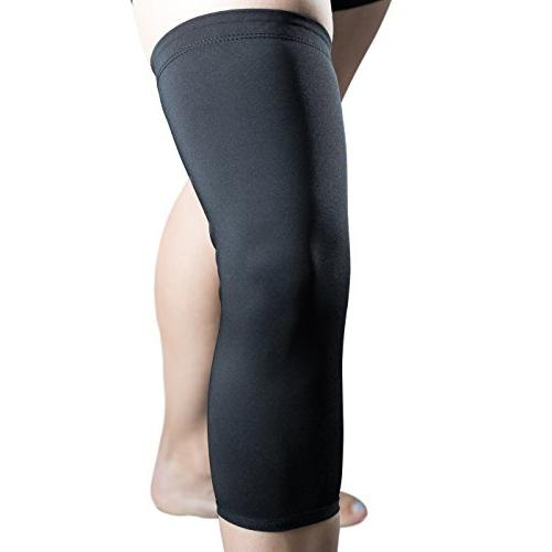 reaction compression support knee brace