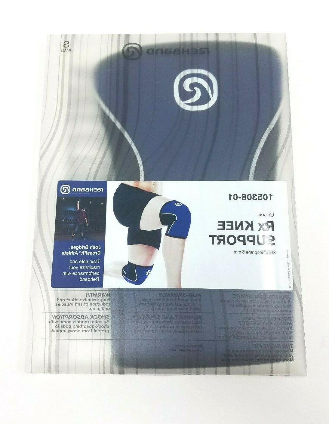 rx knee support 5 mm thick neoprene