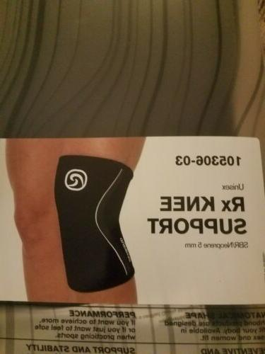 rx knee support 5 mm xl black