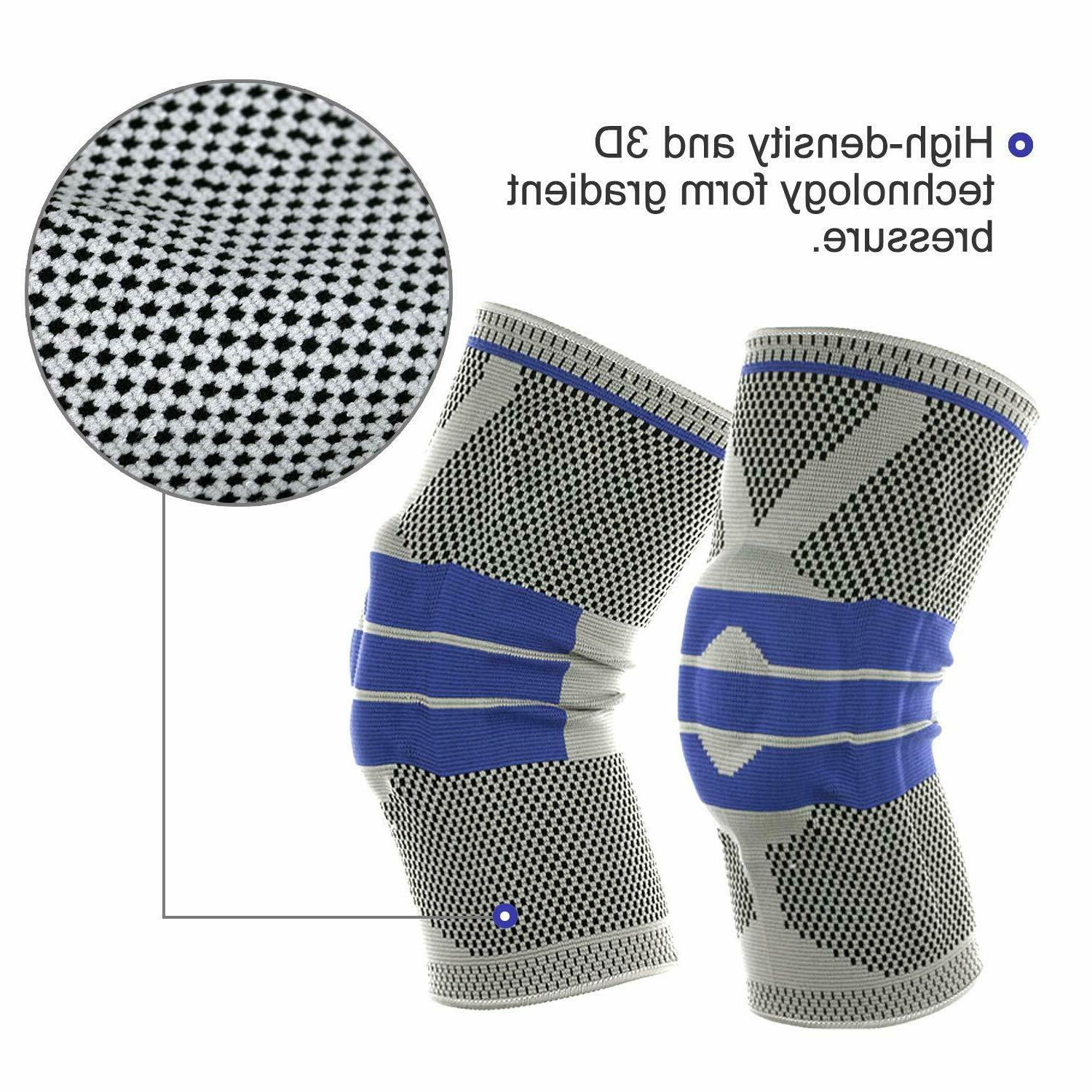 Silicone Sport Strong Meniscus Protection Compression