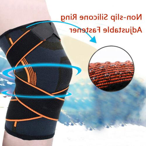 2x Knee Brace Joint Pain Arthritis Relief