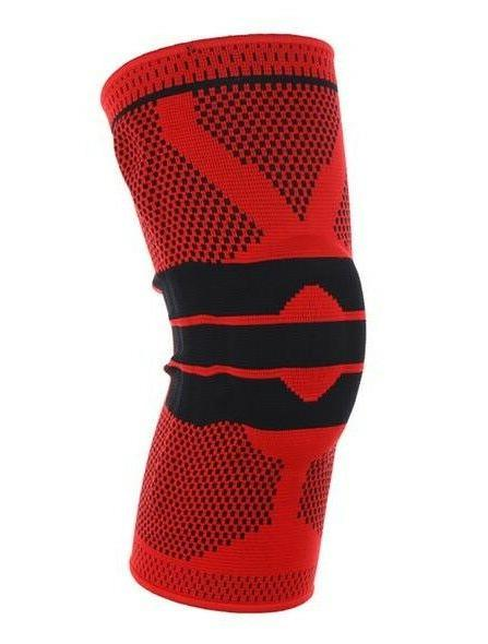 Sports Knee Support High Compression Silicone Knee Sleeve