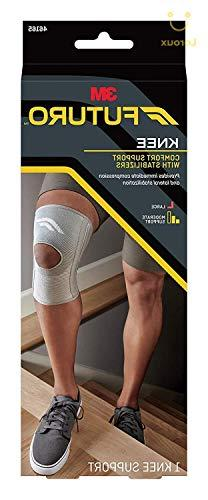 Futuro Stabilizing Knee Support, Large, Moderate Stabilizing