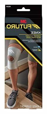 Futuro Stabilizing Knee Support Brace Supports Weak Sore Mus
