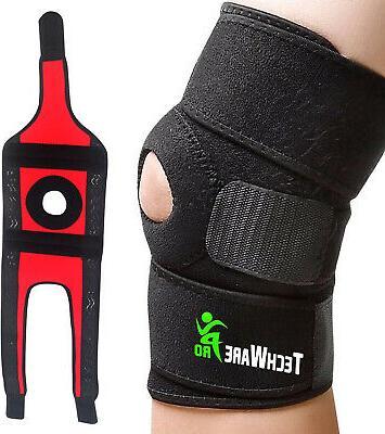techware pro knee brace support relieves acl