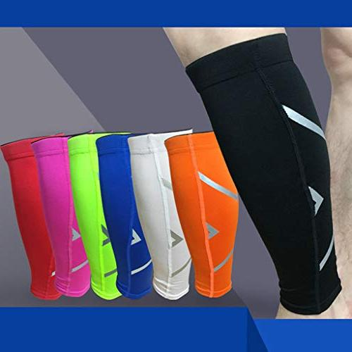 Women Men Pads Guard - Leg Sleeve Elbow Protector Anti-Slip - Brace for Running Sports