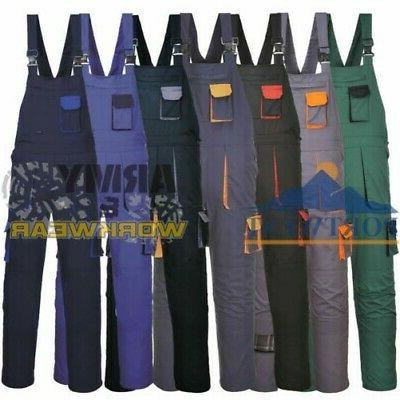 workwear bib and brace coverall overall knee