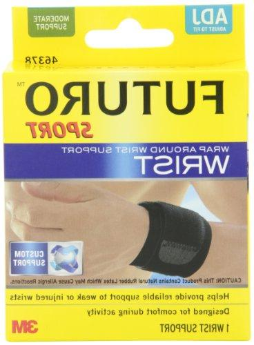 wrap around wrist support adjustable
