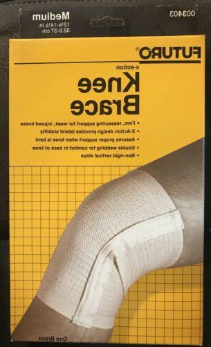 x action knee brace by no 003403