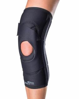 DonJoy Lateral J Patella Knee Support Brace without Hinge Le