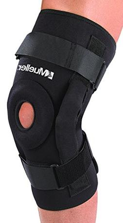Mueller Hinged Knee Brace, Deluxe, Black, XXX-Large