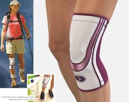 Mueller Life Care Contour Knee Support Sleeve - Plum or Taup