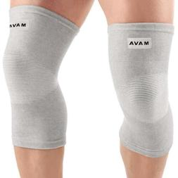Mava Support Sports Knee Sleeves  Joint Pain & Arthritis Rel